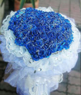 99 Blue Roses
